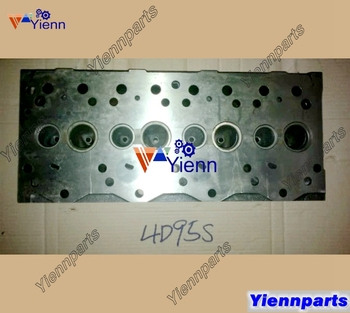 For Komatsu 4D95S Cylinder Head For Komatsu D20 D21-7 Crawler Tractor 4D95S Indirect injection Engine Part
