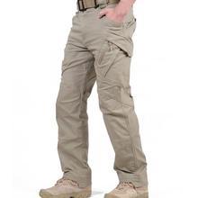 IX9 City Tactical Cargo wojskowe spodnie militarne mężczyźni wiele kieszeni Cargo spodnie wojskowe walki Hike spodnie męskie spodnie typu Casual XXXL tanie tanio COTTON Poliester JZ-146 Suknem COTTON Polyester Medical Pants Broadcloth Military Midweight Zipper Fly Cargo Pants Pockets