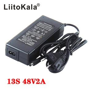 LiitoKala 12V 24V 36V 48V 3 Series 6 Series 7 Series 10 Series 13 String 18650 Lithium Battery Charger 12.6V 29.4V DC 5.5*2.1mm(China)