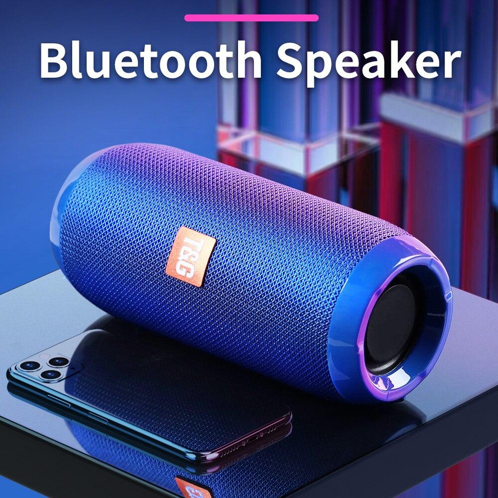 נייד Bluetooth רמקול 10W אלחוטי בס עמודה עמיד למים חיצוני רמקול תמיכה AUX TF USB סאב סטריאו רמקול