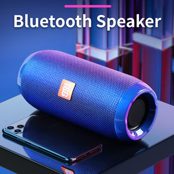 Przenośny głośnik Bluetooth 10W bezprzewodowy bas kolumna wodoodporny głośnik zewnętrzny wsparcie AUX TF USB Subwoofer głośnik Stereo tanie i dobre opinie ROSEER Przenośne Baterii Rohs Z tworzywa sztucznego Pełny zakres 2 (2 0) CN (pochodzenie) 25 W NONE 10 w inny Aktywne
