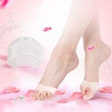 Żelowe podkładki pod stopy buty na wysokim obcasie wkładki zapobiegają blistrze silikonowa wkładka żelowa ulga w bólu pielęgnacja stóp