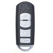 KEYECU clé télécommande à 4 boutons, FSK, 315MHz, système ID49 m itsubishi, pour Mazda 3 6 Miata (2013 2016), ID FCC: SKE13D01