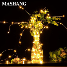 Christmas Lights LED String Light Holiday Lighting Fairy Garland Home Party Wedding New Year Decoration Lamp Powered by Battery salt water power christmas lamp string lights innovation upgrading led lanterns party lighting home decoration light qf 167a10