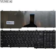 Новая русская клавиатура для ноутбука Toshiba Satellite L655 L655D C655 C655D C660 C660D C650D L650 C670 L650D L755 Клавиатура черного цвета