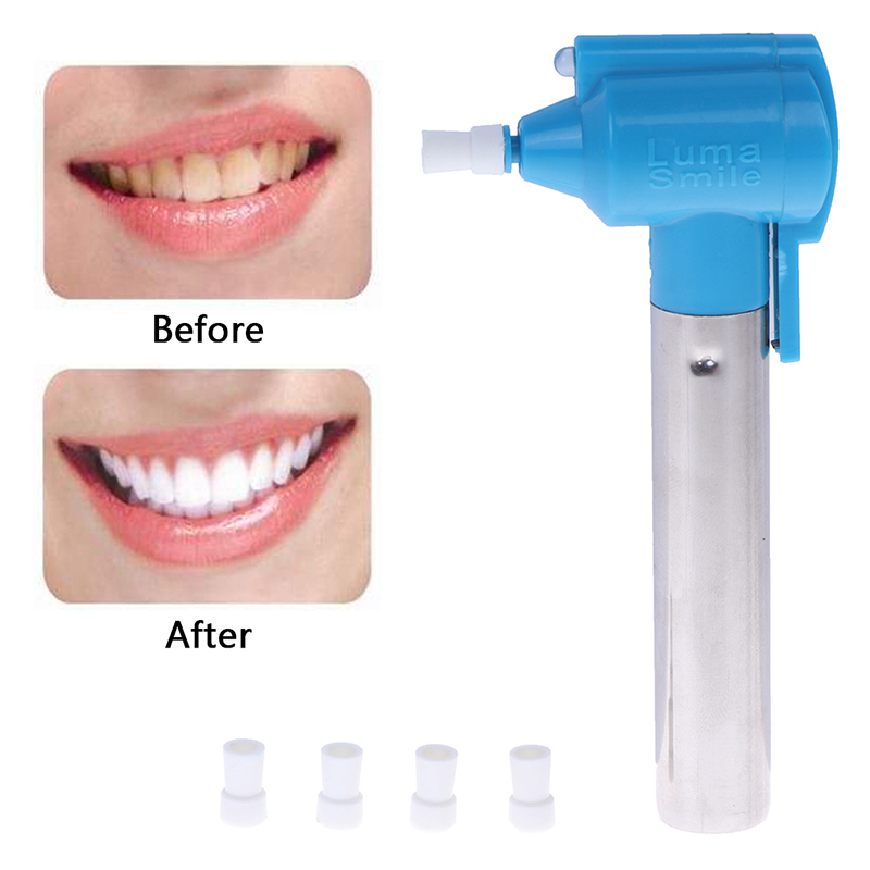 Dental Tooth Polishing Teeth Whitener Whitening Polisher Stain Remover Tool Kit