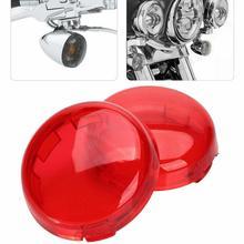 1 пара мотоцикл поворотники светильник крышка объектива для Touring Road King Sportster 883 1200 Iron XL Softail Heritage