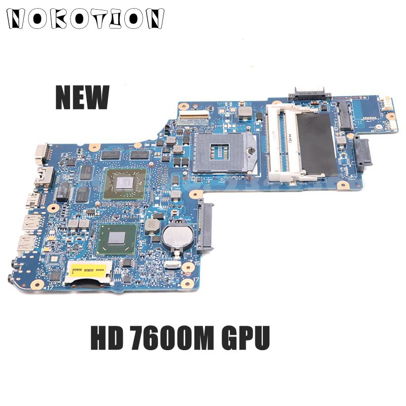 For Toshiba Satellite L850 C850 C855 Laptop Motherboard H000038410 Main Board