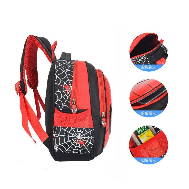 New Boys 3-6 Year Old 3D School Bags Child Spiderman Book bag Kids Shoulder Bag Satchel Knapsack 2020 Hot Waterproof Backpacks 3
