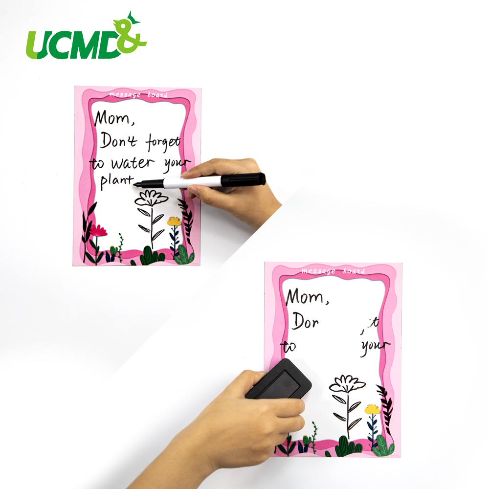 Magnetic Whiteboard Sticker Fridge Magnets Office Dry Wipe White Board Marker Writing Message Board Remind Memo Pad Home Decor