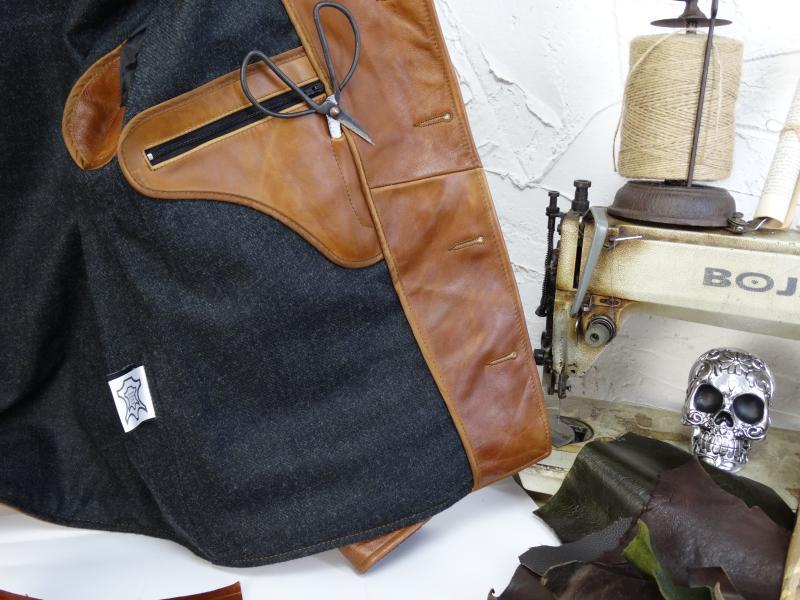 H71c8472353ac4d9e971cdbf782b1b4a1g YR!Free shipping.Italy Oil Wax Cowhide coat.Helix Rider genuine leather jacket,winter men vintage brown leather jacket.sales