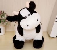 new toy about 30cm cow plush toy dairy cow soft doll throw pillow Christmas gift b1785