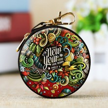 Baroque Christmas Mini Tin Box Sealed Jar Packing Boxes Xmas Candy Small Storage Cans Coin Earrings Headphones Gift