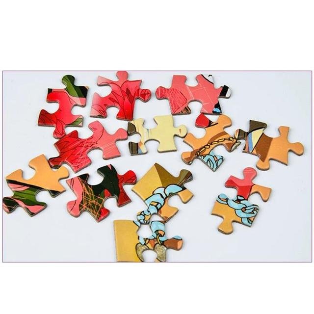 Nowy 1000 sztuk puzzle drewniane montaż obraz krajobraz puzzle dla dorosłych dzieci gry dla dzieci zabawki edukacyjne tanie i dobre opinie Liplasting Unisex 3 lat Drewna 3D PUZZLE 1000 Piece Puzzle 36 * 26 * 5 5cm plane painting 1 8mm Beautifully sealed gift box
