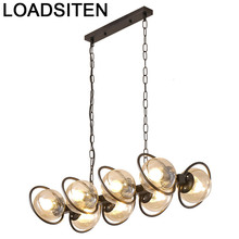 Modern Light Chambre Fille Industrial Gantung Loft Nordic Design Luminaria Deco Maison Suspension Luminaire Hanging Lamp