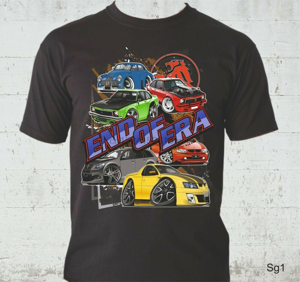 BIG FIT HOLDEN  EH  PANELVAN   QUALITY WHITE  TSHIRT 11 CAR COLOURS