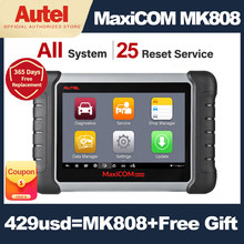 Autel MaxiCOM MK808 OBD2 Diagnostic Scanner Automotive Diagnostic Tool Car Scanner OBD 2 Code Reader Key Coding Pk CRP909X