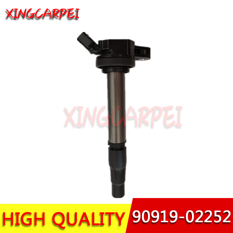 High Quality Ignition Coil <font><b>90919</b></font>-<font><b>02252</b></font> For Toyota Corolla Matrix Scion xD Lexus 1.8L 9091902252 <font><b>90919</b></font> <font><b>02252</b></font> image