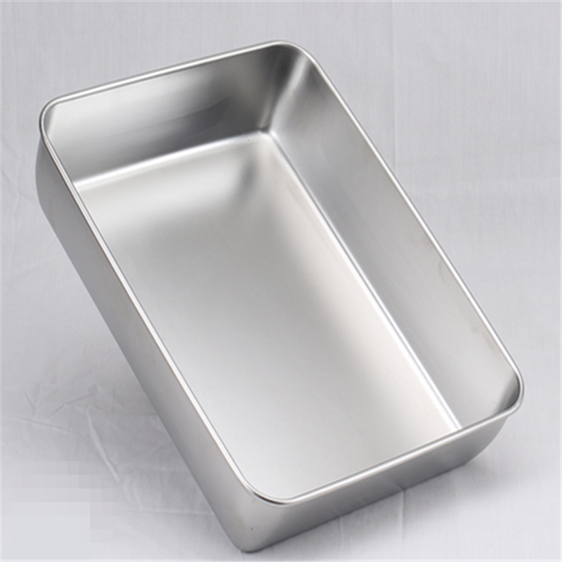 Stainless Steel Tray Containers