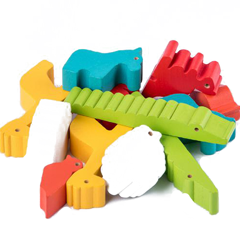 de ensino brinquedos coloridos cedo desenvolvimento blocos de madeira brinquedos