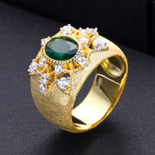 janekelly Charm Trendy CROSS shape Statement Stacks Rings for Women Cubic Zircon Finger Rings Beads Ring Boho Beach Jewelry(China)