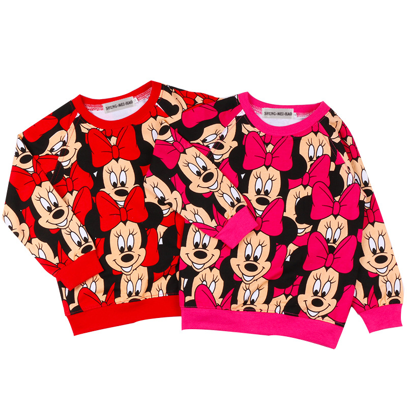 Mickey Mouse Langarm Baby T-Shirt