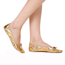 USHINE Soft PU Top Gold Soft Indian Woman Belly Dance Dancing Shoes Ballet Shoes Leather Belly Ballet Shoes Children Girls Woman sparkle glitter woman girl dance dancing latin raks sharki belly ball prom shoes silver gold blue red brown black leather sole
