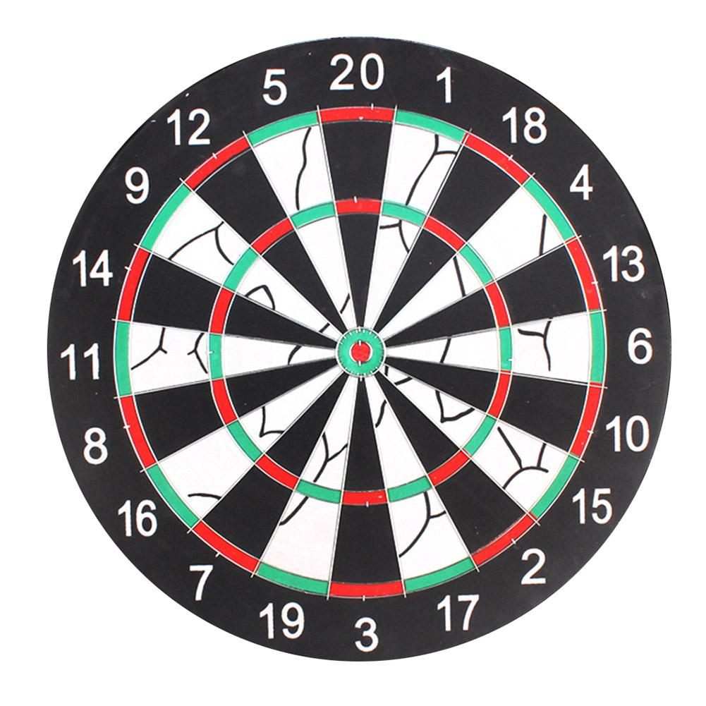 12/15/17inch Thickening Flocking Double Sided Hanging Dart Target Game Board Indoor Sport Dartboard Safety Kids Adults Toy