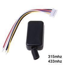 Relé interruptor remoto DC3.7V, 4,2 V, 5V, 6V, 7,4 V, 8,4 V, 9V, 12V, salida de 0V, relé de contacto seco, valor de conmutación NO COM NC 315MHz 433MHz