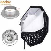 Godox 47.2/120cm Bowen Octagon Honeycomb Grid Umbrella Dolly Softbox