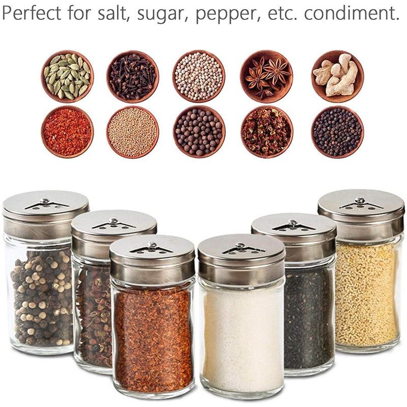 Hot Discount #aa25d - Salt Spice Jars Seasoning Bottles ...