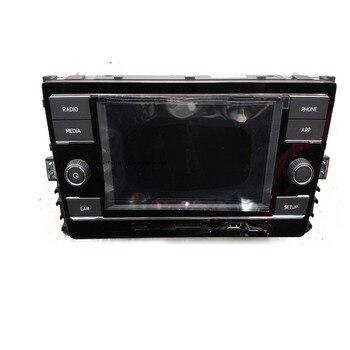 """Radio de coche estéreo MIB de 6,5 """"con Bluetooth Mirrorlink para GOLF MK7 y Passat B8 Tiguan L 5GD 035 280 C 5GD035280C"""
