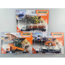 Matchbox GBK70 Collection Series Transport Fleet Theme Simulation of detachable classic car Toys for Childen Collect Gift