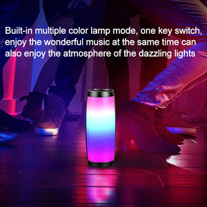 Image 5 - Portable Bluetooth Speaker LED Wireless Speakers 10W 3D Stereo Music Surround Subwoofer Support FM TF Card Outdoor Loudspeaker