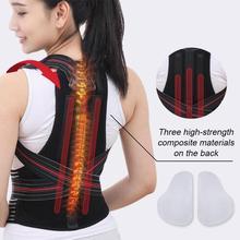 Kids Back Corset Shoulder Lumbar Posture Corrector Bandage Spine Support Belt Magnetic Therapy Back Support Posture Correction