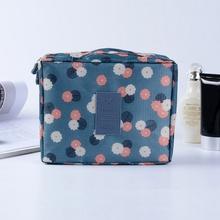 Multifunction Oxford Women Travel Cosmetic Bag Waterproof Makeup Kit Toiletries Wash Organizer Storage