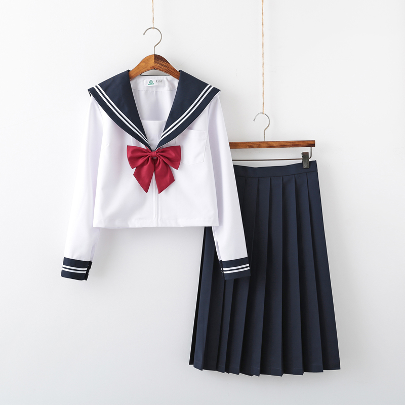 School Girl Cosplay JK Uniform Women Chorus Performance Short Long Sleeve Japanese Sailor Uniforms Anime Pure and lovely