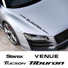 Autocollant de garniture de carrosserie entière, pour Hyundai Elantra Getz GRANDEUR NEXO PALISADE STAREX TIBURON Tucson VENUE, accessoires automobiles