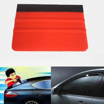 1pcs Felt Edge Squeegee Car Vinyl Wrap Application Decal Foil Scraper no For Car Tool sticker Scraping Car-styling Square K3P5 image