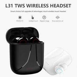 Image 5 - L31 מוסיקה אוזניות bluetooth אוזניות ספורט אוזניות עסקים אוזניות עובד על כל טלפונים חכמים סמסונג xiaomi huawei iphone