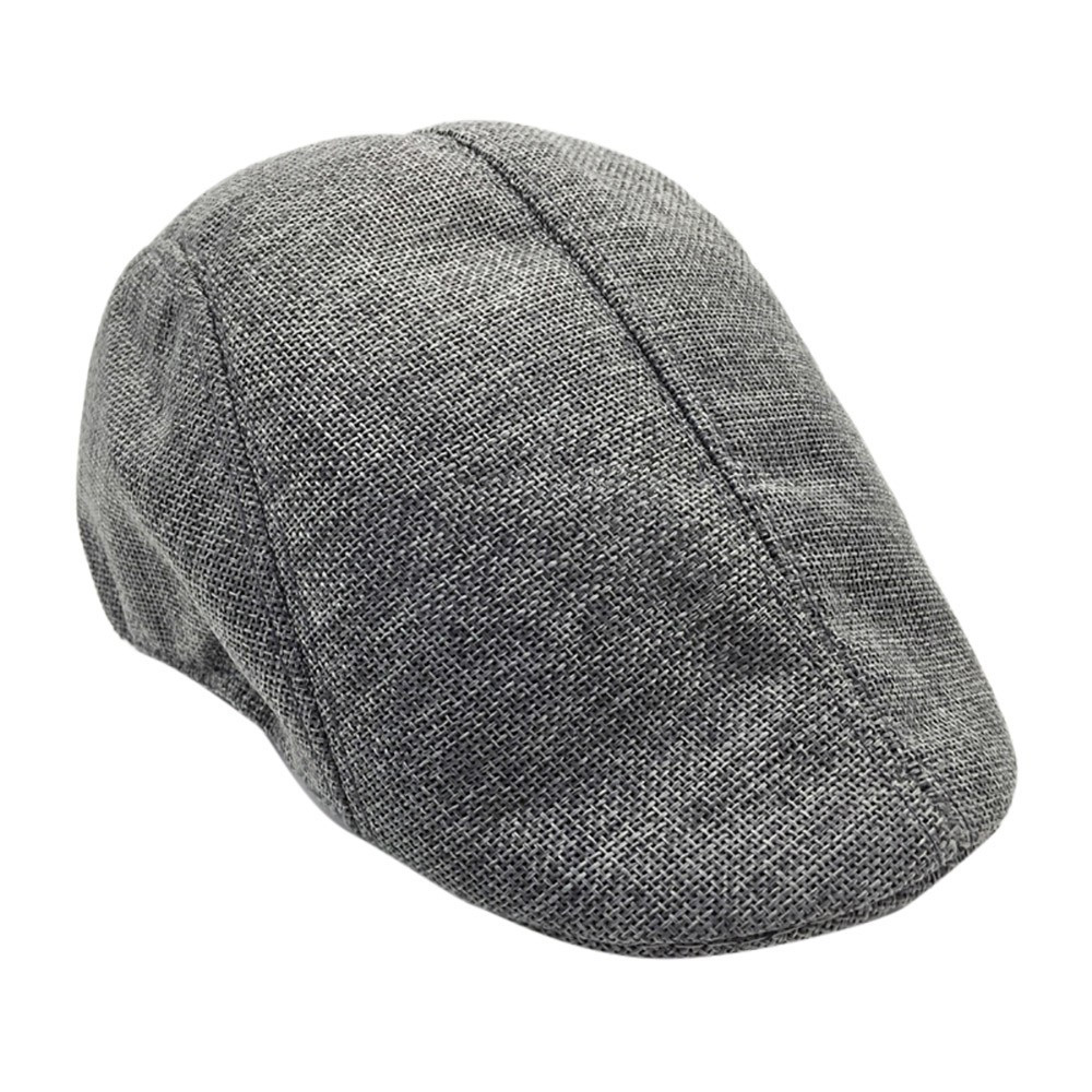 Men Womens Visor Hat Sunhat Mesh Running Formal Casual Breathable Beret Flat Cap