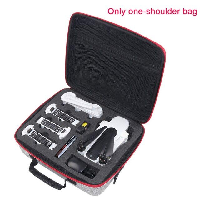 Drone su geçirmez darbeye dayanıklı koruyucu saklama çantası taşınabilir kılıfı aksesuarları tutucu tek omuz EVA el Zino H117S