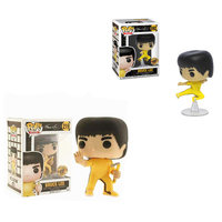 FUNKO POP Bruce Lee Limited Edition King of Kung Fu Collection Model Toys For Children Christmas Gift