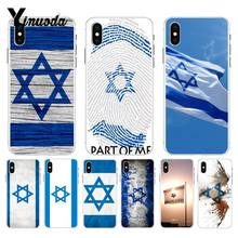 Yinuoda israel flag Country banners Israeli Soft TPU Phone Case Cover for Apple iPhone 8 7 6 6S Plus X XS max 5 5S SE XR Cover(China)