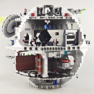 Строительные блоки «Звездные войны» 05063, 05035, 10188, совместимые с Lepining 75159, детские игрушки, рождественский подарок