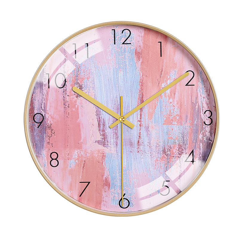 Modern Bedroom Nordic Wall Clock Silent Mute Wall Clocks Thick Watches For Kitchen Wall Home Decor Living Room Watch New II50BGZ