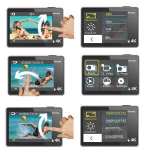 Image 2 - Geekam Camera Hành Động T1 Cảm Ứng Màn Hình Ultra HD 4 K/30fps 20MP Wifi Dưới Nước Chống Thấm Nước Mũ Bảo Hiểm Xe Đạp Thể Thao Cực Chất video Cam