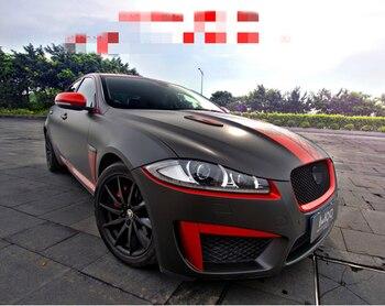 RACING สติกเกอร์ประตู Body ตกแต่งภายนอก Body ดัดแปลงกีฬาสติกเกอร์ฟิล์มสำหรับ Jaguar XF