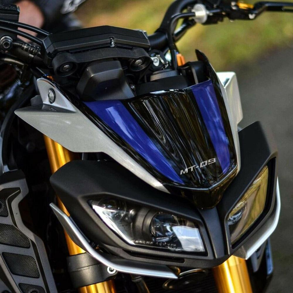 Передний нос конус обтекатель колеса крыло клюв расширение крышка расширитель хомут для Yamaha MT09 FZ09 MT 09 FZ 09 MT-09 2017 2018 2019-20