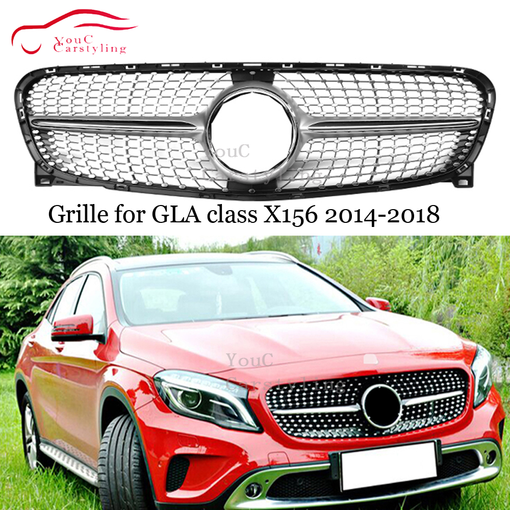 i-Shop 2014-2016 4-Series F32 F33 F36 Gloss Black Front Hood Kidney Grille Grill Pair